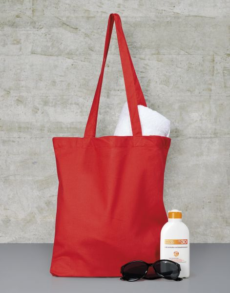 Cotton Tote Bag, Long Handles