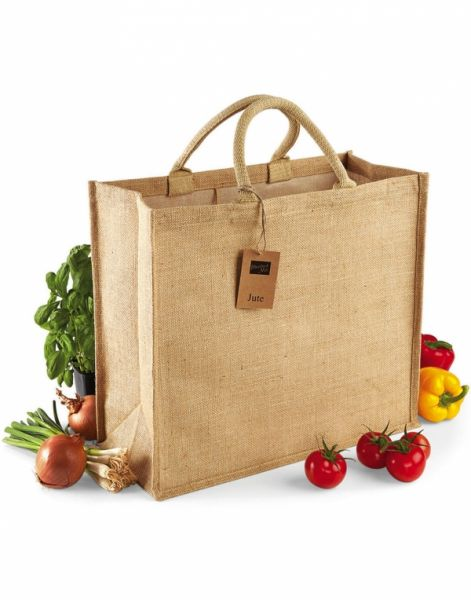 Jumbo Jute Shopping Bag