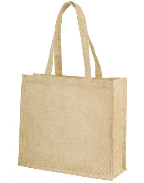 Jute Shopping Bag with Long Straps