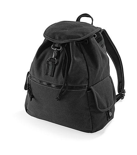 Vintage Canvas Backpack, Quadra