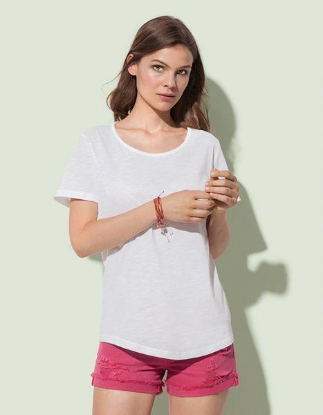 Organic Slub Women T-shirt, Stedman Stars