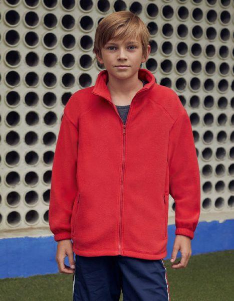 Fleece Junior Jacket, Fruit of the Loom