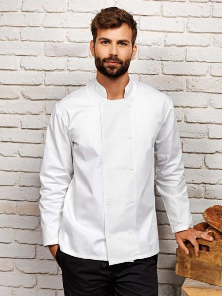 Long Sleeve Chef Jacket, Premier