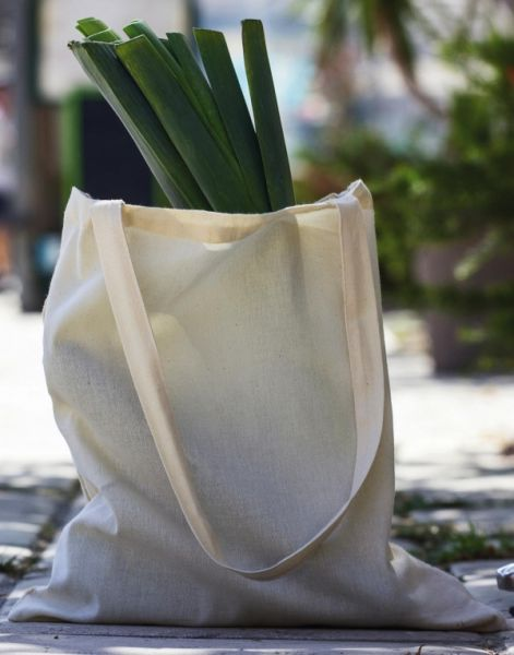 Organic Cotton Long Handles Tote