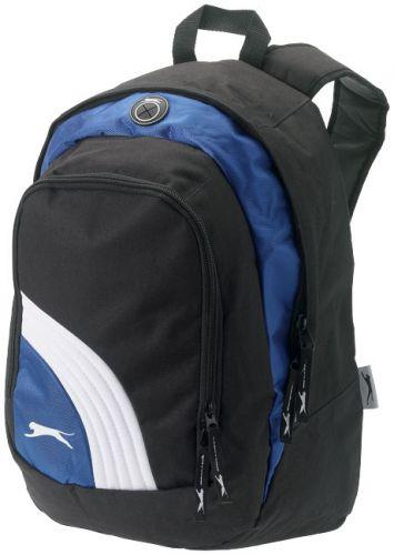 Wembley backpack bicolor black+blue