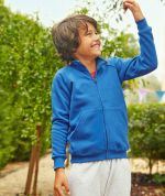 Kids Premium Sweat Jacket - Fruit of the Loom