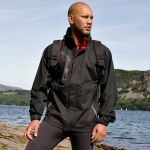 Spiro Mens Nero Jacket