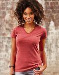 Ladies V-Neck HD Tee T-Shirt