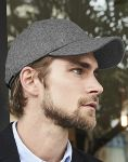Melton Wool 6 Panel Cap