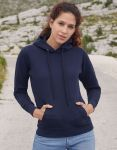 Classic Lady-Fit Hooded Sweat, Fruit of the Loom