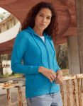 Lady Lightweight Hooded Sweat Jacket, Fruit of the Loom