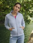 Premium Lady-Fit Sweat Jacket, Fruit of the Loom