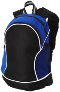 Boomerang backpack bicolor (black+color)