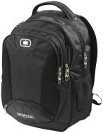 "Bullion 17"" laptop backpack black"