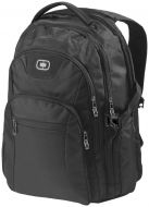 "Curb 17"" laptop backpack black"