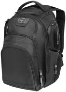"Stratagem 17"" laptop backpack black"