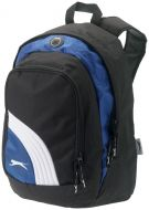 Wembley backpack bicolor black+blue