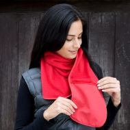 Scarf, Result - Polartherm, Scarf With Zip