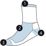 Socks, Roly - SPORT SOCKS