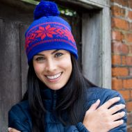 Hat, Result - Fair isle Knitted