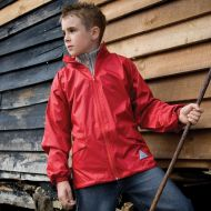 Rain jacket children Result - Junior Windcheater
