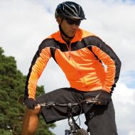 Spiro - Mens Bikewear Long  Sleeve Performance Top